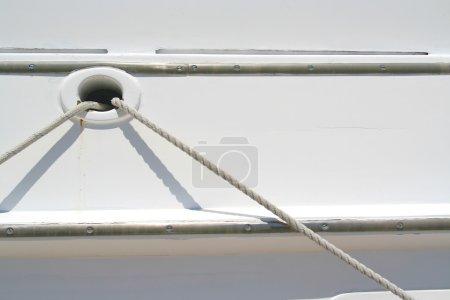 Photo pour Détail abstrait du bateau - image libre de droit