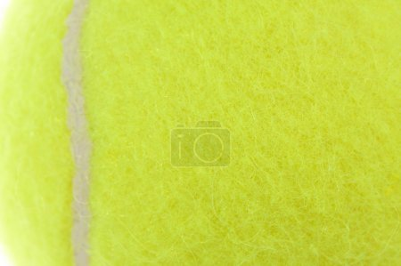 Abstract Macro of Brand New Tennis Ball