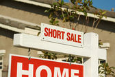 Short Sale Real Estate Sign
