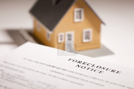 Foreclosure Notice and Model Home