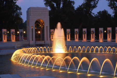 Photo for World War II Memorial in Washington, DC, USA - Royalty Free Image
