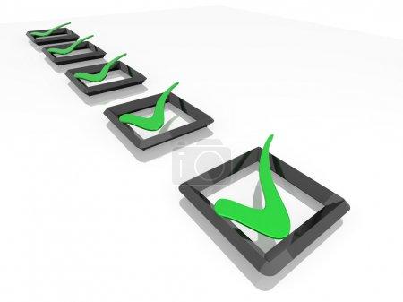 3d checklist