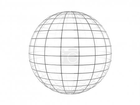 Wire frame sphere