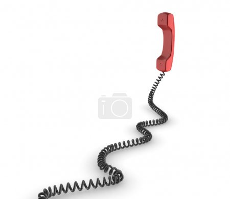 Red 3d phone