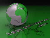 illustration de la carte de crédit global