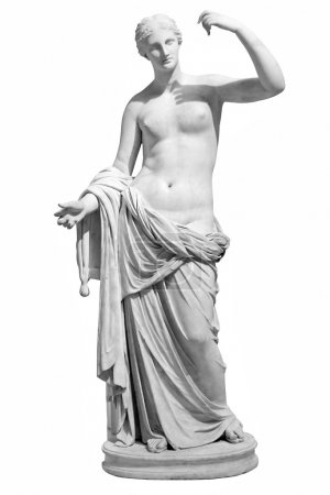 Ancient marble statue of Venus