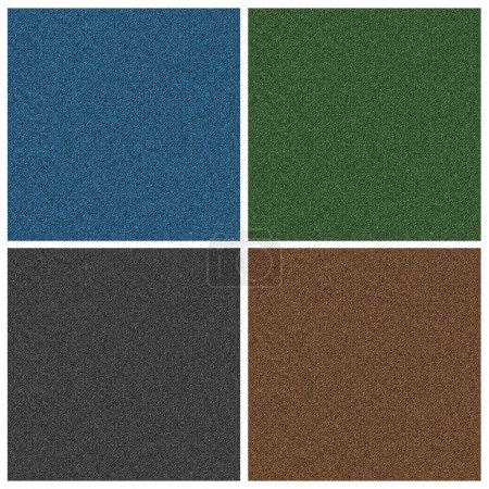 Denim texture in four colors