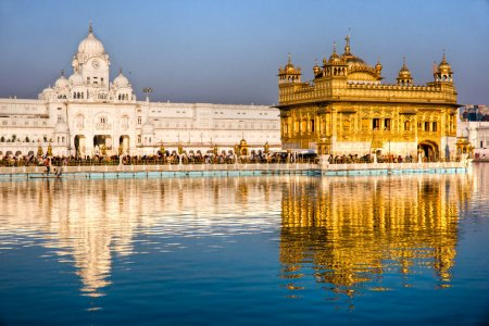 Golden Temple in Amritsar, Punjab, Indi