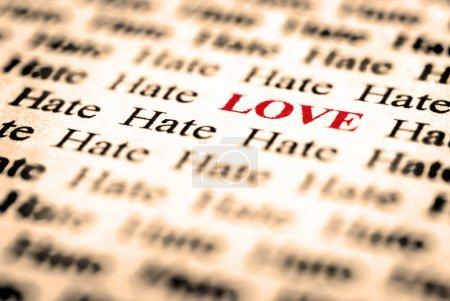 Amour haine &