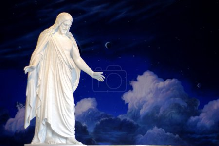 Photo for Statue of Jesus Christ with hands outstretched - Royalty Free Image
