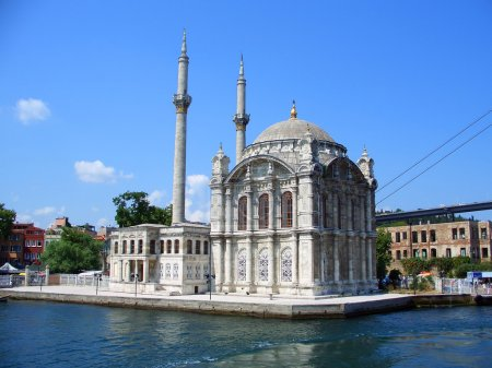 Ortakoy Mosque at Bosphorus