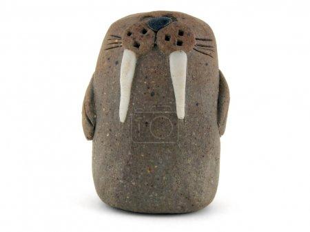 Clay walrus