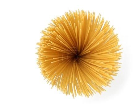 Spaghetti sunflower