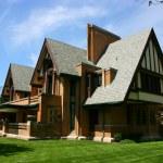 Frank Lloyd Wright Moore-Dugal house in Oak Park, ...