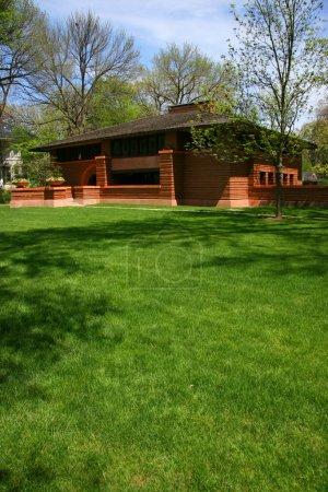 Photo pour Frank Lloyd Wright a conçu la maison à Oak Park, Chicago, Illinois - image libre de droit