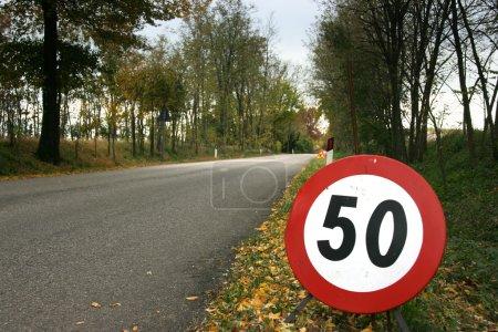 Speed limit horizontal
