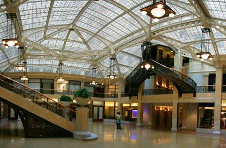 Photo pour Rookery bâtiment Cour lumineuse, chicago, illinois - image libre de droit