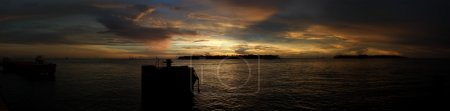 Photo for Panoramic sunset in Key West, Florida Keys - Royalty Free Image