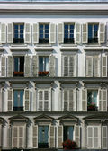 Building facade in Paris