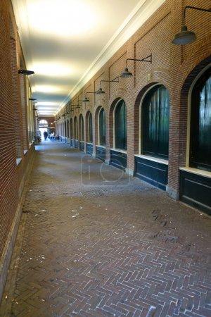 Old hallway vertical