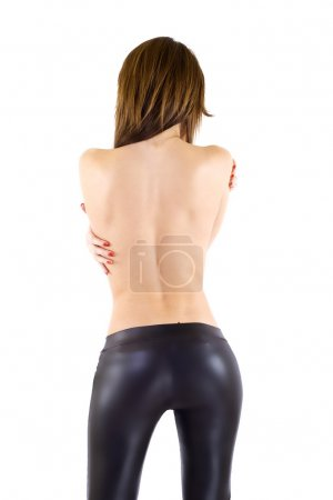 Sexy woman's back
