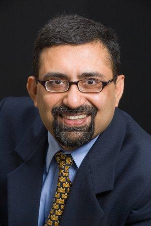 Photo pour Un portrait d'un dirigeant indien souriant - image libre de droit