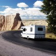 Vacationing in a recreational vehicle in the Badla...