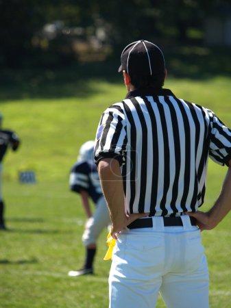 American footbal referee