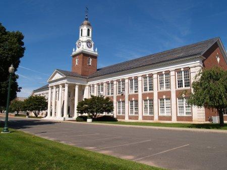 Photo pour Salle Davidson sur le campus de central connecticut state university à new britain, connecticut. - image libre de droit