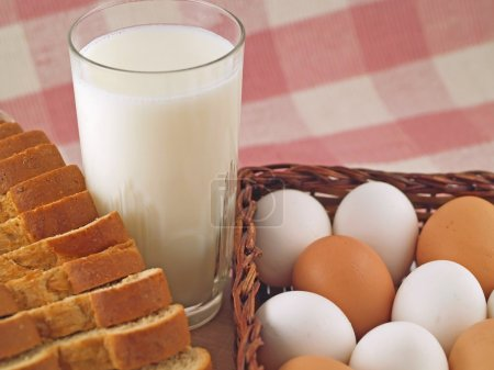 Milk, Eggs, and Bread - The Staples