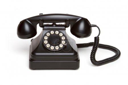 Photo for Old fashioned retro vintage telephone - Royalty Free Image