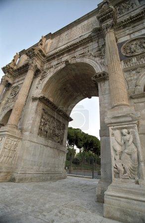 Photo pour Détail du triomphe à rome, Italie - image libre de droit