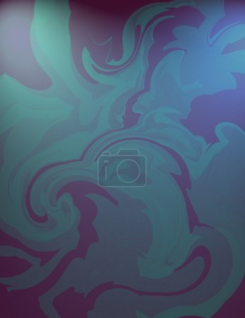 Blue and purple swirl background