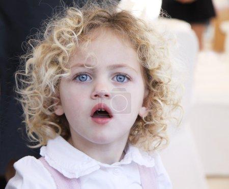 Beautiful toddler portrait