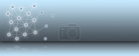 Photo for Network - abstract background - Royalty Free Image