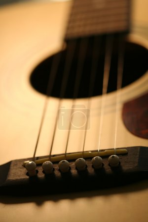 Photo for Guitar close-up - Royalty Free Image