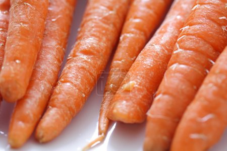 Photo for Close-up of a bunch of carrots - Royalty Free Image