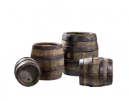 Odl wood barrels