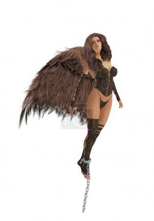 Brunette Angel