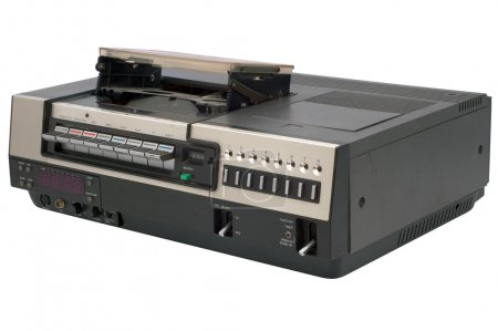 Isolated oldschool videorecorder with clipping pat...