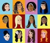 Women Faces 2