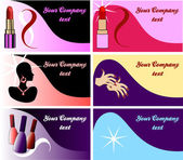 Vector Illustration of 8 perfume or cologne bottles
