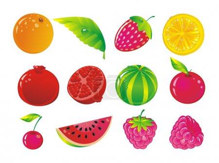 Fruit allsorts