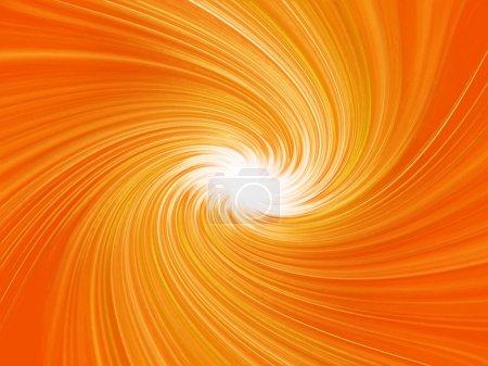 Orange abstrakte Hintergrund Explosion