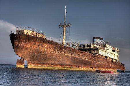Big shipwreck