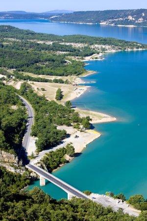 St Croix Lake, Les Gorges du Verdon, Provence, Fra...