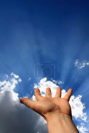 Foto de Energía de la mano - Imagen libre de derechos