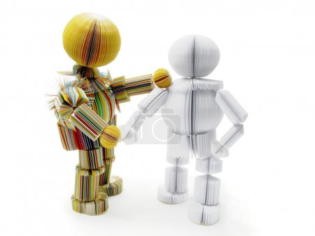 Photo pour Deux poupées - image libre de droit