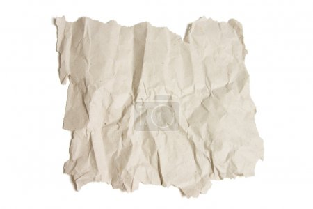 Piece of Crumpled Paper