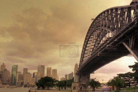 holiday new travel bridge sunset dusk